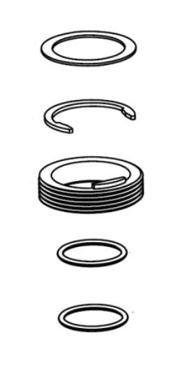 MOEN ABERDEEN HARDWARE KIT FOR KITCHEN FAUCET SERIES 7590 AND 7592